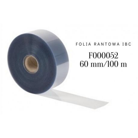Folia rantowa z czystego Rhodoidu h 60 mm/dł. 100 m F000052 IBC