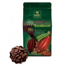 5kg Czekolada CIEMNA Excellence 55% CHD-R55EXEL-E4-U72 Cacao Barry