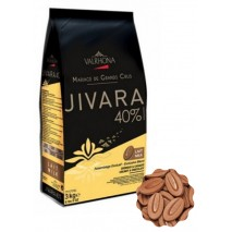 3kg Czekolada 40% MLECZNA w kaletkach LAIT JIVARA V4658 Valrhona
