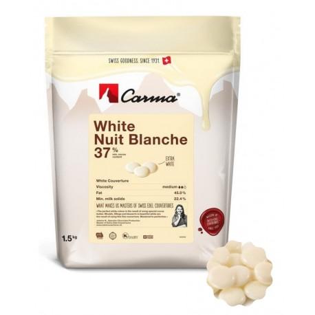 1,5 kg Czekolada BIAŁA WHITE NUIT BLANCHE 37% CHW-N153NUBLE6-Z71 Carma