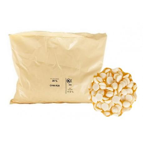 2,5kg Czekolada BIAŁA SICAO 28% CHW-R28-557 Callebaut