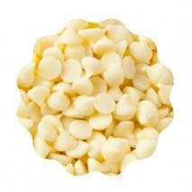 10kg FAT-BASED COATING DROPS WHITE drobne dropsy z BIAŁEJ czekolady (polewa niewymagająca temperowania) Dawn