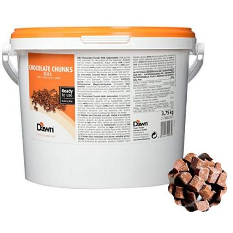 3,75kg Bake Stable CHUNKS MILK Kawałki MLECZNEJ czekolady do zapiekania Dawn