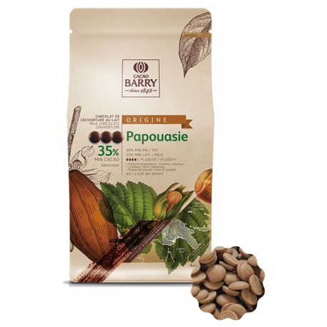 2,5kg Czekolada MLECZNA Origine PAPOUASIE 35% CHM-Q35PAP-E4-U70 Cacao Barry