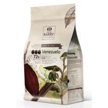 2,5kg Czekolada CIEMNA/DESEROWA Origine VENEZUELA 72% CHD-P72VEN-E1-U70 Cacao Barry