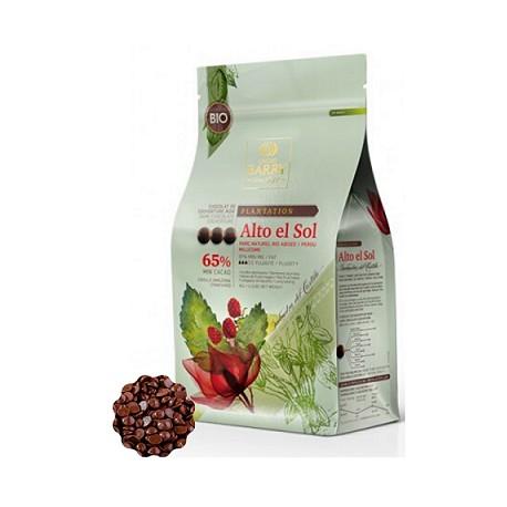 1kg Czekola1kg Czekolada CIEMNA/DESEROWA Origine ALTO EL SOL 65% CHD-P65ALTN-E1-U68 Cacao Barry