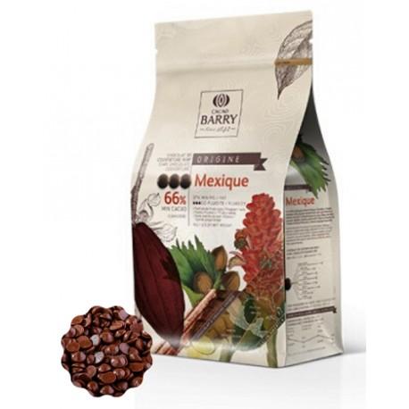 2,5kg Czekolada CIEMNA/DESEROWA Origine MEXIQUE 66% CHD-N66MEX-E4-U70 Cacao Barry