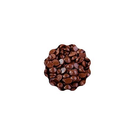 10kg Czekolada CIEMNA/DESEROWA Wybrzeże Kości Słoniowej IVORY COAST 55% 721 Lubeca