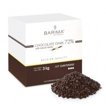 3kg Czekolada CIEMNA/DESEROWA 70% CHN72XX3 Barima