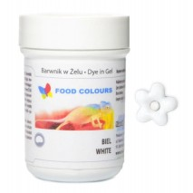 35g Barwnik BIAŁY spożywczy w ŻELU WSG-084 Food Colours