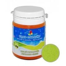 25g Barwnik ZIELONY PISTACJOWY spożywczy w PROSZKU WS-P-049 Food Colours
