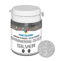20g Barwnik SREBRNY w proszku Shimmering Dust Silver WS-P-150 Food Colours