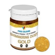 20g Barwnik ZŁOTY w proszku Shimmering Dust Gold WS-P-155 Food Colours