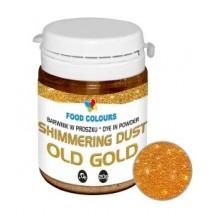 20g Barwnik STARE ZŁOTO w proszku Shimmering Dust Old old WS-P-160 Food Colours