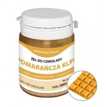 35g Barwnik naturalny POMARAŃCZOWY do Czekolady CHOCO-020 KLPL Food Colours