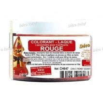 20 g CH647 Barwnik w proszku do Czekolady Czerony ROUGE Deco Relief