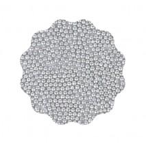 40g Perełki metaliczne SREBRNE 2 mm Sweet Decor