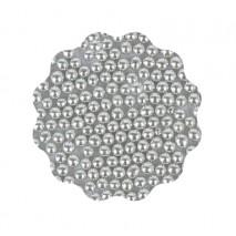 40g Perełki metaliczne SREBRNE 5 mm Sweet Decor