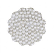 30g Perełki miękkie BIAŁE błyszczące 6 mm Sweet Decor