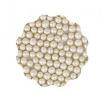 30g Perełki miękkie ECRU błyszczące 6 mm Sweet Decor