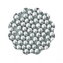 30g Perełki miękkie SREBRNE błyszczące 6 mm Sweet Decor