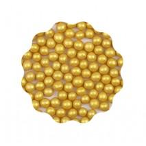 30g Perełki miękkie ZŁOTE błyszczące 6 mm Sweet Decor