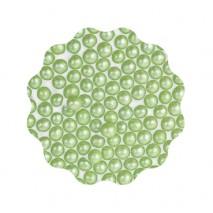 30g Perełki miękkie ZIELONE błyszczące 6 mm Sweet Decor