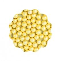 30g Perełki miękkie ŻÓŁTE błyszczące 6 mm Sweet Decor