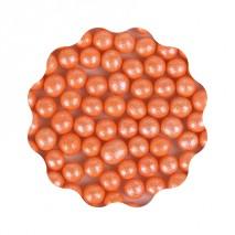 50g Groszki perłowe POMARAŃCZOWE 8 mm Sweet Decor