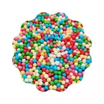 1kg Maczek cukrowy KOLOROWY owocowy 2 mm Dekorpol
