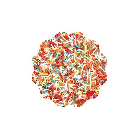 400g Pałeczki cukrowe KOLOROWE owocowe Sweet Decor