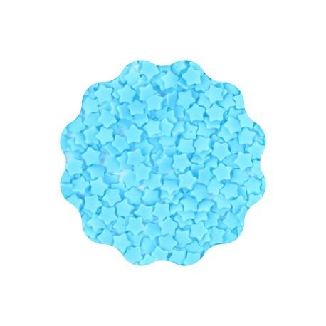 30g GWIAZDKI NIEBIESKIE konfetti cukrowe 5 mm Sweet Decor