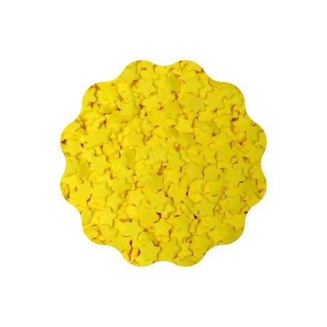 250g GWIAZDKI ŻÓŁTE konfetti cukrowe 5 mm Sempre