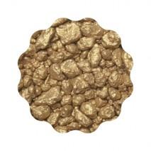 350g KAWAŁKI MLECZNEJ CZEKOLADY pokryte ZŁOTEM Gold Crunch Milk F017001 IBC