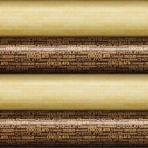 12 szt. Folia transferowa CHOCOLATE WRITING złote napisy 81353 Modecor