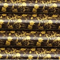 48 szt. Folia transferowa GARLAND złoty kwiatowy wzór 81543 Modecor