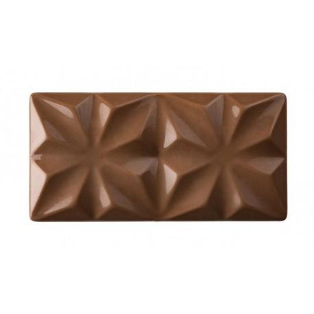 EDELWEISS Forma do tabliczek czekolady z poliwęglanu PC5005 Pavoni