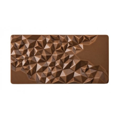 FRAGMENT Forma do tabliczek czekolady z poliwęglanu PC5004 Pavoni
