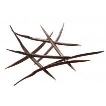 2,5kg Bristle JEŻOWIEC dekoracja z ciemnej czekolady 331561 Barbara Decor