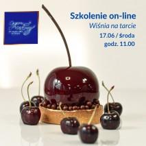 17.06 Monoporcja Wiśnia na tarcie - Szkolenia cukierniczego on-line