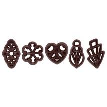 550 szt. Ażurki MILA z ciemnej czekolady 33120 Barbara Decor