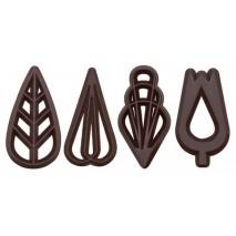 610 szt. Ażurki FINEZJA z ciemnej czekolady 33103 Barbara Decor