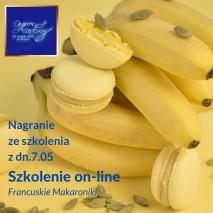 29.04 Szkolenie cukiernicze on-line Monoporcja Cytryna na tarcie