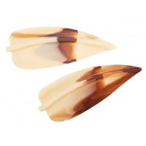 320 szt. LIŚCIE MIMOZY MARMURKOWE dekoracja czekoladowa 3395 Barbara Decor