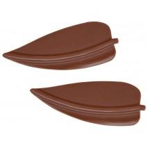 320 szt. LIŚCIE MIMOZY dekoracja z mlecznej czekolady 3396 Barbara Decor