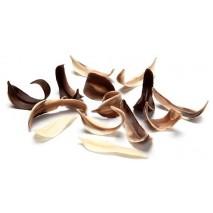 2,5 kg LISTKI WIERZBY MARMURKOWE 50 mm dekoracja czekoladowa 333307 Barbara Decor