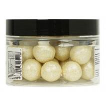 150g KREMOWE METALIZOWANE kule z białej czekolady z całym ORZECHEM LASKOWYM 5050604 Sweet Decor