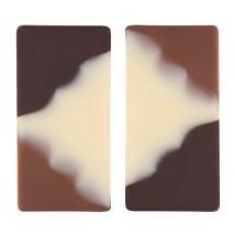 159 szt. DOMINO CLASSIC dekoracja czekoladowa 20/40 mm 33977 Barbara Decor