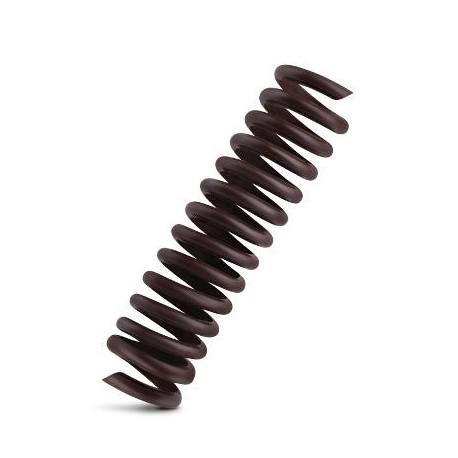 56 szt. SPRĘŻYNKA MINI dekoracja z czekolady deserowej ∅16 dł 80 mm 80167 Barbara Decor