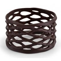 100 szt. KOSZYCZKI MIDI dekoracja z czekolady deserowej ∅30 dł. 45 mm 30457 Barbara Decor